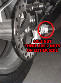 pocket bike usage and technical support at minipocketrockets pocket bike axle nuts