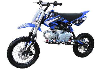 4-stroke dirt bike