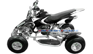 mini quads black white