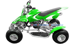 mini quads green