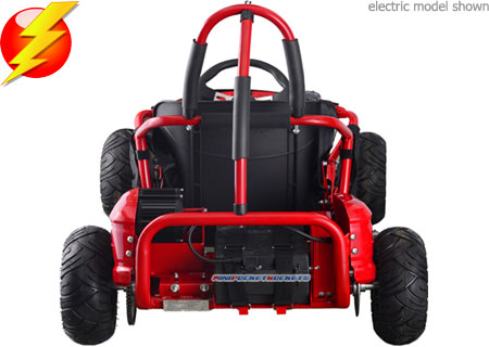 electric go karts rear