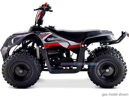 electric mini quads side