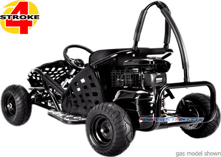 gas go kart rear