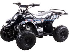 mini atv black