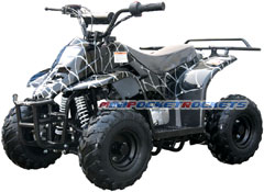 mini atv spider black