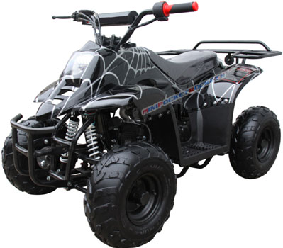 mini atv the apache 110cc. Black Bedroom Furniture Sets. Home Design Ideas