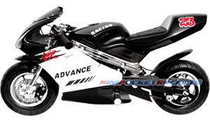 mini bike black