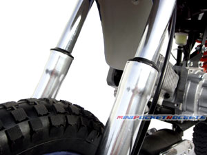 mini dirt bike fork