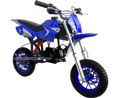 mini dirt bike side