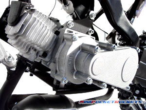 mini dirt bikes engine