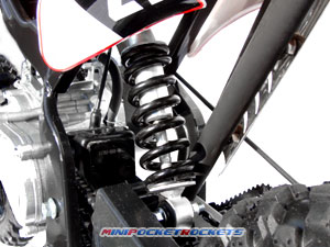 mini dirt bikes shocks