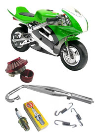 pocket bike packages