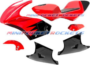 pocket bike parts fairings