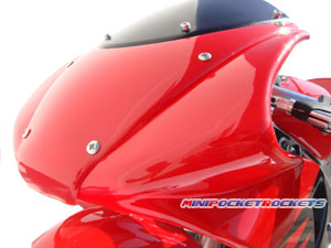 pocket bikes fairings