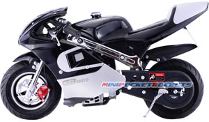 pocket bike black