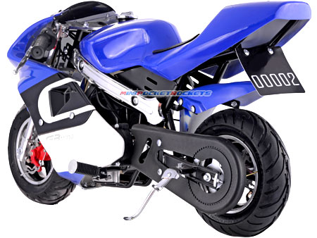 pocket bike rear