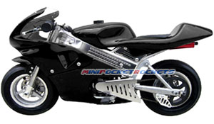 mini bike in black